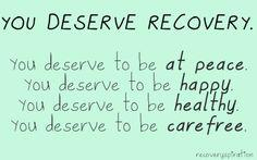 the definition of recovery