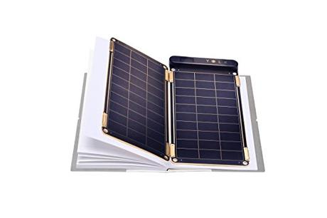 Solar Paper + Pouch, Paper-thin and Light Portable Solar Charger with Ultra-High-Efficiency (5W)