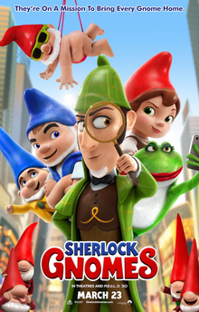 Today's Review: Sherlock Gnomes