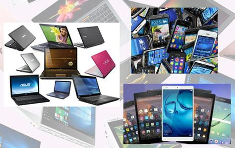 Laptop, Tablets and Smartphones