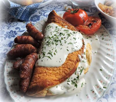 Souffle Omelet & Cornbread Muffins