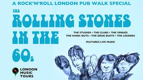 #LondonWalks Walk Of The Week: The Rock'n'Roll Pub Tour With LIVE Music #RollingStones Special!