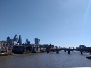 View from the Millennium Bridge