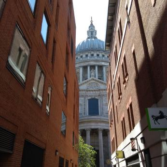 A Peek at St Pauls