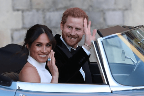Harry & Meghan's Royal Wedding Reception Included A Fireworks Display