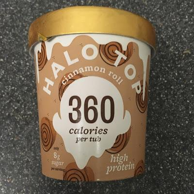 Today's Review: Halo Top Cinnamon Roll