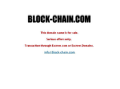 Largest Hyphenated Sale Ever $1million? Block-Chain.com