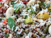 Pineapple Quinoa Salad with Cashews (Dairy, Gluten Sugar Free)