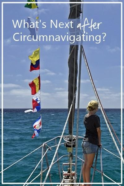 Circumnavigation, check! What's next?