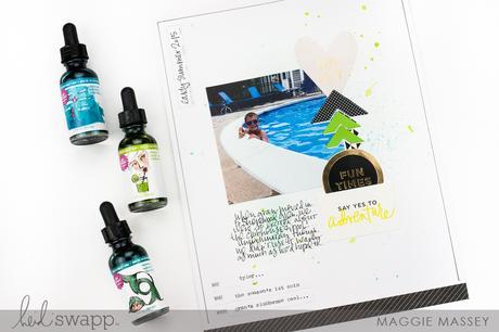 Heidi Swapp Storyline + Jane Davenport Inkredible Ink