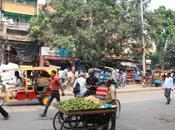 DAILY PHOTO: Orange Vendor Street Scene, Delhi