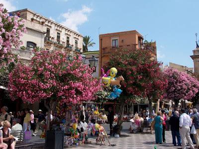 Sicily 13:  Taormina (ii)      [Sky Watch Friday]