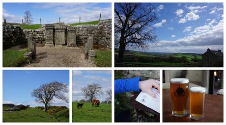 Temple of Mithras and countryside to The George Hotel - day 6 - Carrie Gault 2018