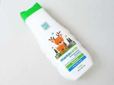 Mama Earth Talc Free Organic  Dusting Powder for Babies Review