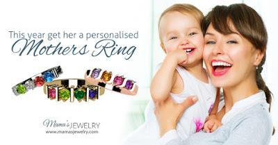 Beautiful Personalized Jewelry for Mothers and Grandmas from Mama's Jewelry!