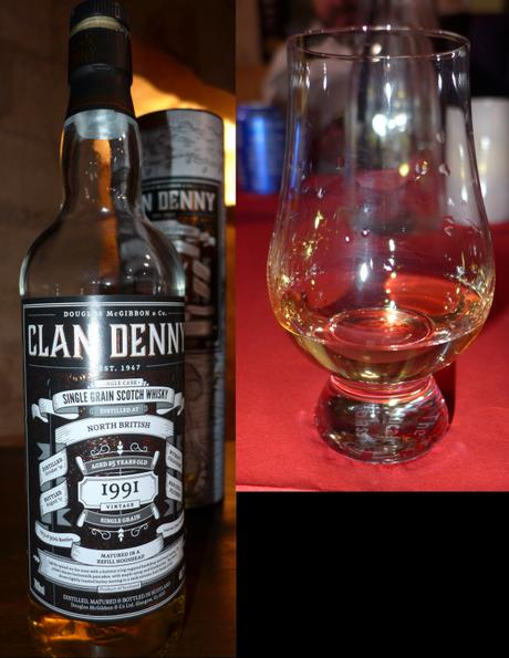 Tasting Notes:  Clan Denny / Douglas Laing:  North British : 1991