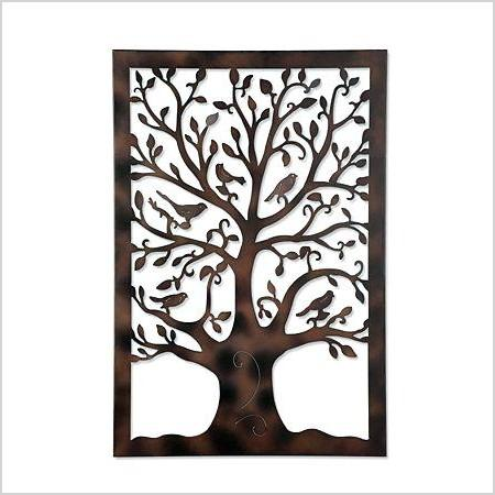 metal wall tree decor round tree metal wall decor evergreen pine tree metal wall decor set