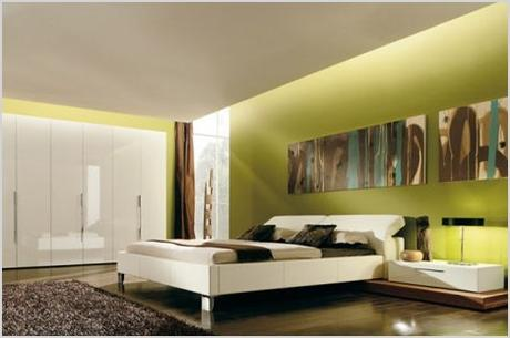creative color minimalist bedroom interior design ideas