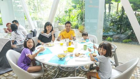 Mealtimes are for family bonding