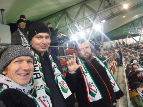Mieszka W Polsce: Living in Poland – How to Buy a Legia Warszawa Match Ticket