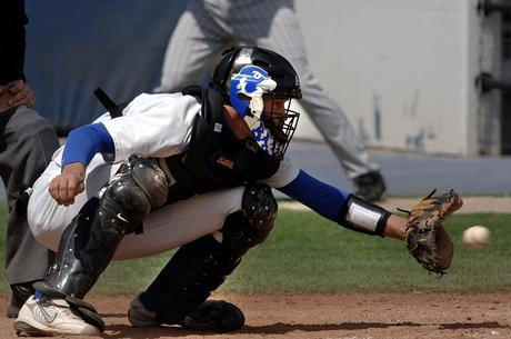 Pre-game drills for catchers