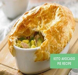 Keto Avocado Pie Recipe