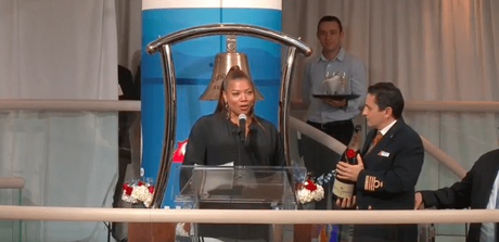 "Queen Latifah Has Been Named ""Godmother"" Of Carnival Cruise Ship"