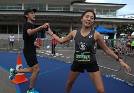 ASICS News Release – Thousands of Runners Raced in Teams of 4 to complete the Inaugural ASICS Relay Philippines