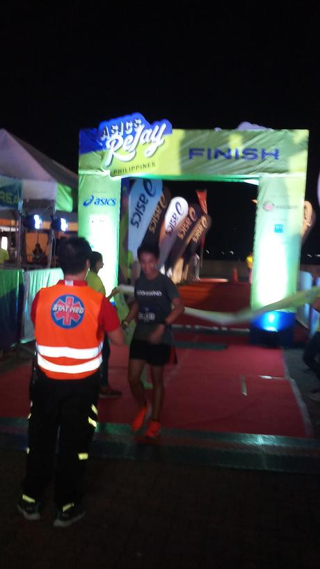 The ASICS Relay Run report by Guest Runner/Blogger Kyle Marlo Herrera