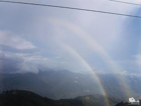 Double rainbow at Halsema Highway