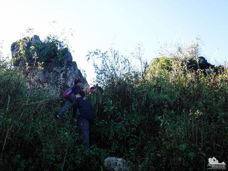 Last few steps to Mt. Fato