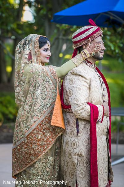 Indian Wedding Photography: Bride and groom Pose Photography ideas