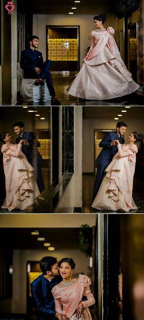 wedding bride and groom couple pose