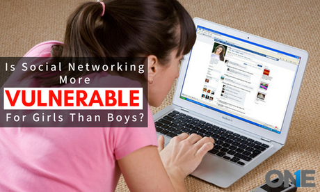 is social networking vulnerable in girls than boys