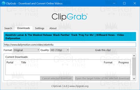 clipgab- dailymotion video downloader