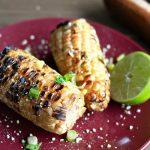 Grilled Vegan Mexican Street Corn