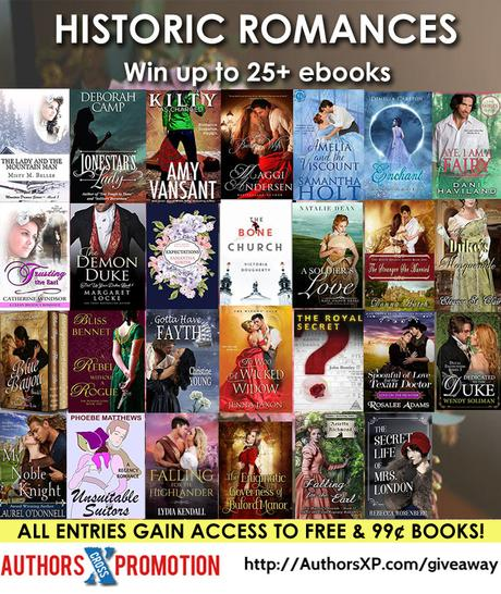Mad Robots, Historical Romance and Gift Card Giveaways and more book deals!