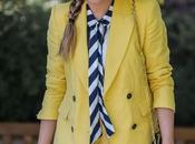 Getting Sass Together This Yellow Pant Suit
