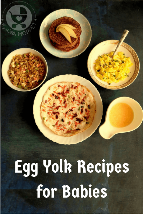 Eggs are little powerhouses of nutrition for everyone, particularly babies! Babies can start egg yolks at six months, so check out these 5 egg yolk recipes for babies so they don't get bored!