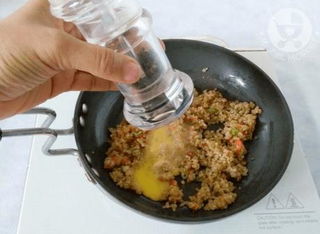 Egg Yolk Quinoa Stir Fry