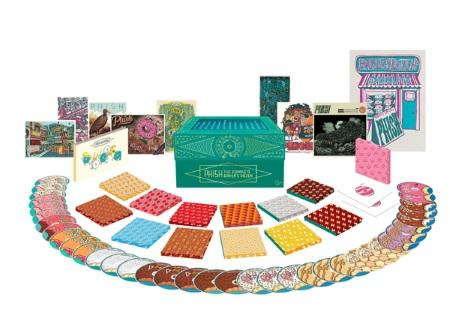 Phish: The Complete Baker's Dozen Limited Edition Box; 3CD/6LP highlights