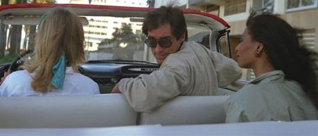 Bond's Beige Bomber Jacket in The Living Daylights