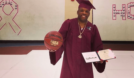 INSPIRATION:  Michael Bivins Receives His High School Diploma!