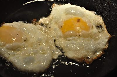 Two Fried Eggs -- At Dark-Thirty