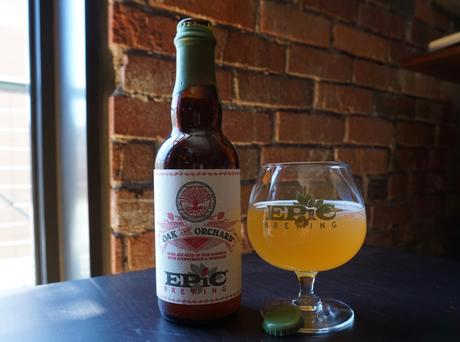 Strawberry Rhubarb Sour: the Latest Oak & Orchard from Epic