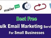 Best Free Bulk Email Marketing Services Small Businesses