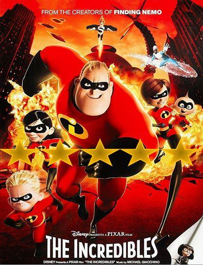 ABC Film Challenge – Animation –  I – The Incredibles (2004)