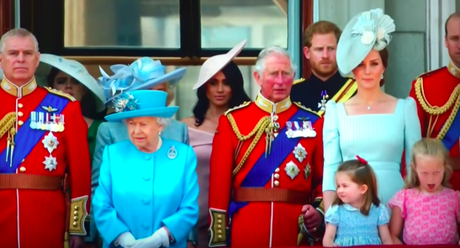 Meghan Markle Made Her Debut As A Royal For The Queen's Birthday Parade