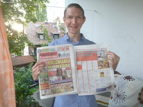 Dziwaczne Odkrycia: My First Polish Newspaper Appearance, A Feature in Gazeta Kociewska, Starogard Gdański