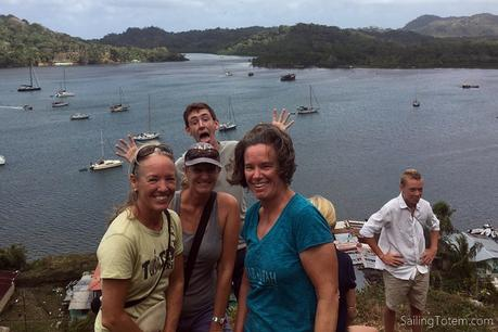Guests on a boat: how our friends nailed it